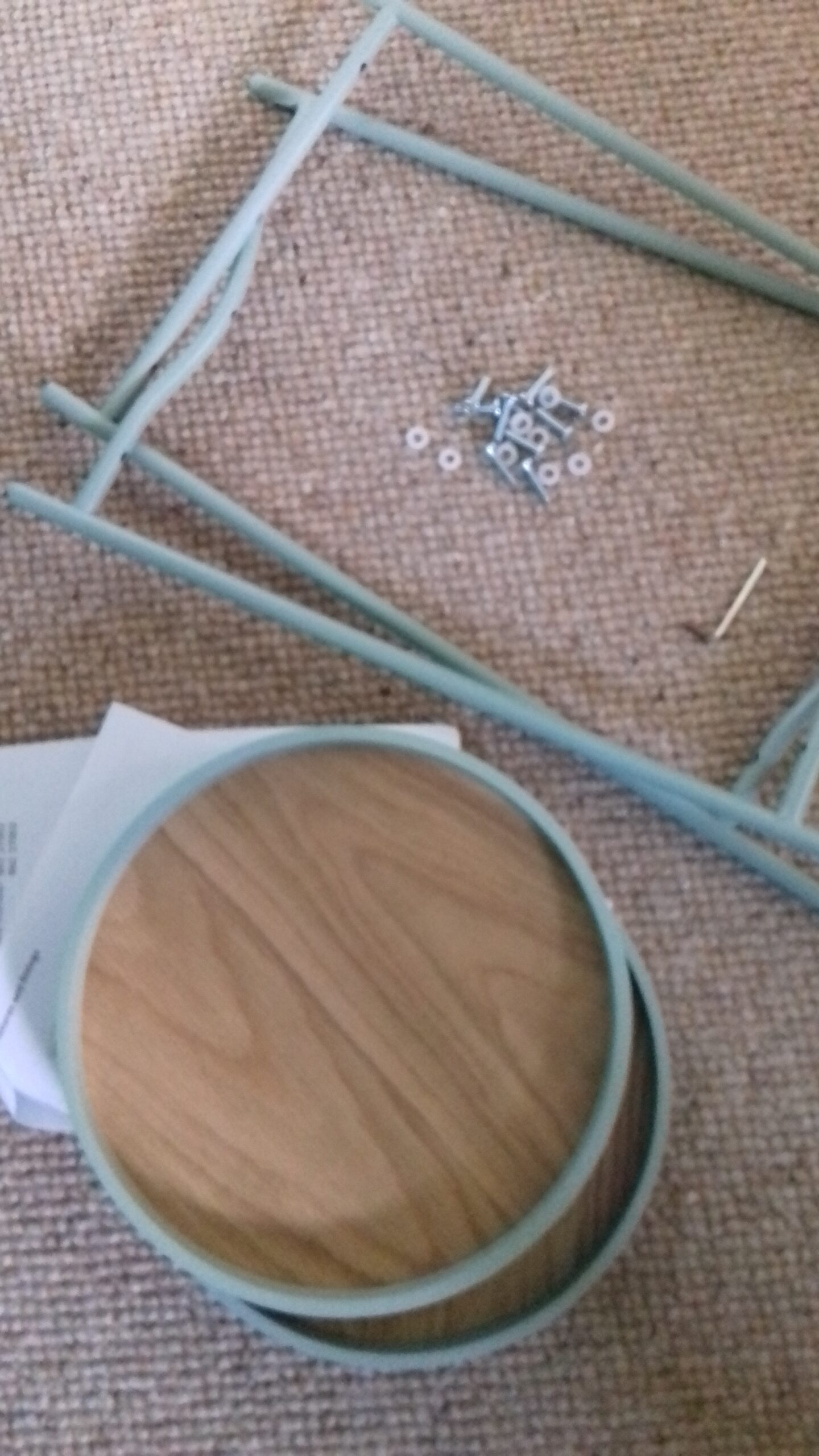 self-assembly parts of little side table