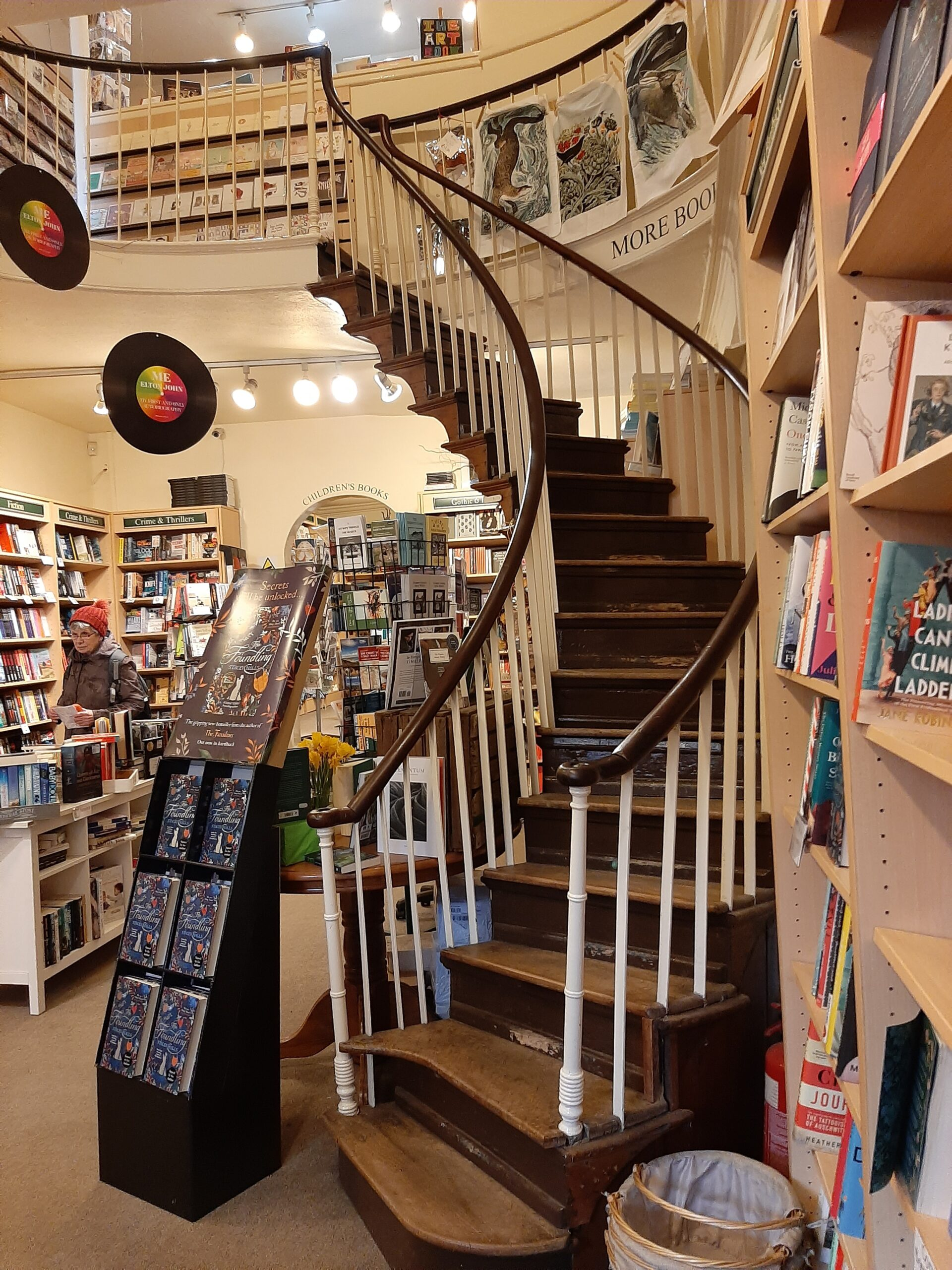 Staircase Whitby Bookshop