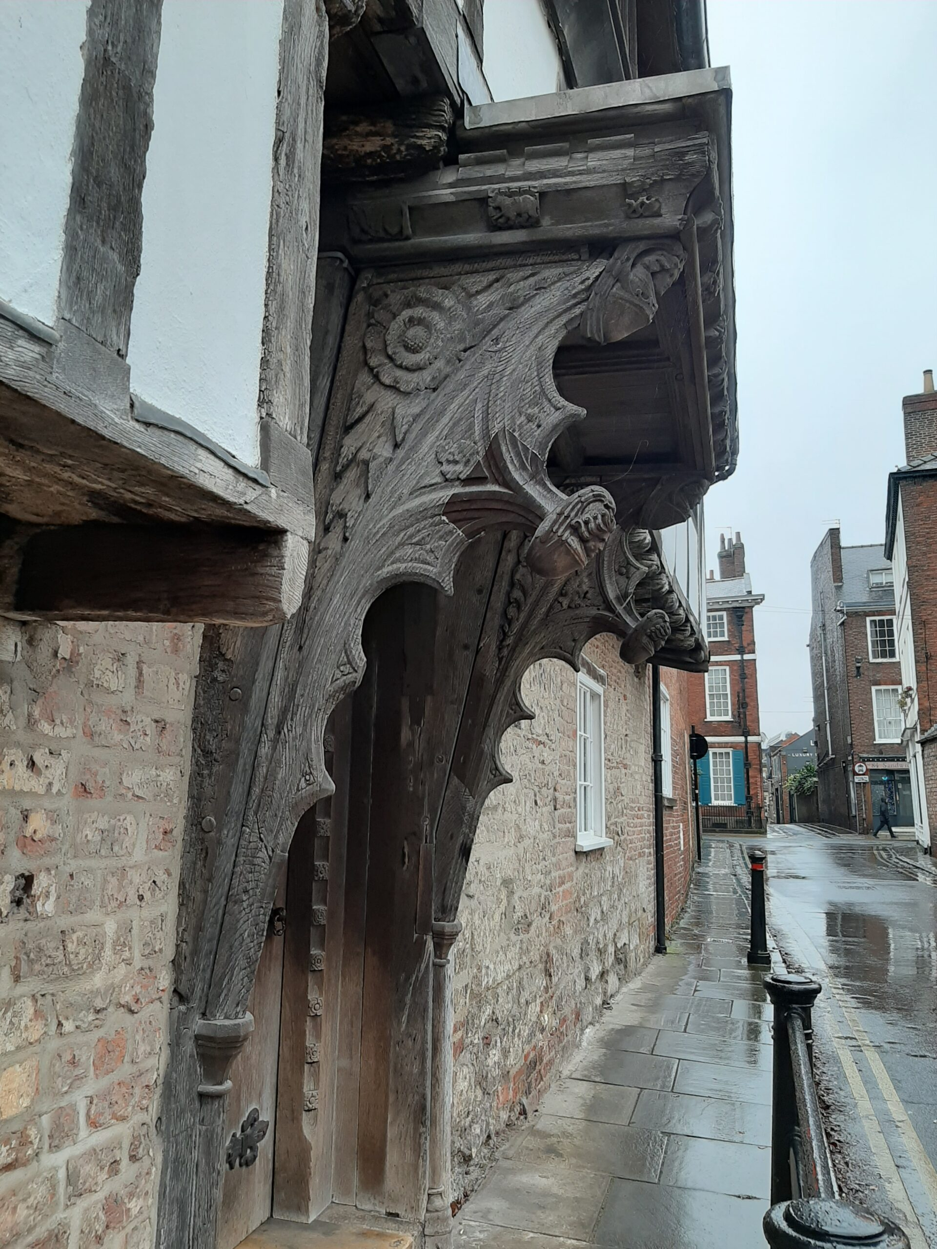 Detail Jacob's Well, Trinity Lane, Micklegate