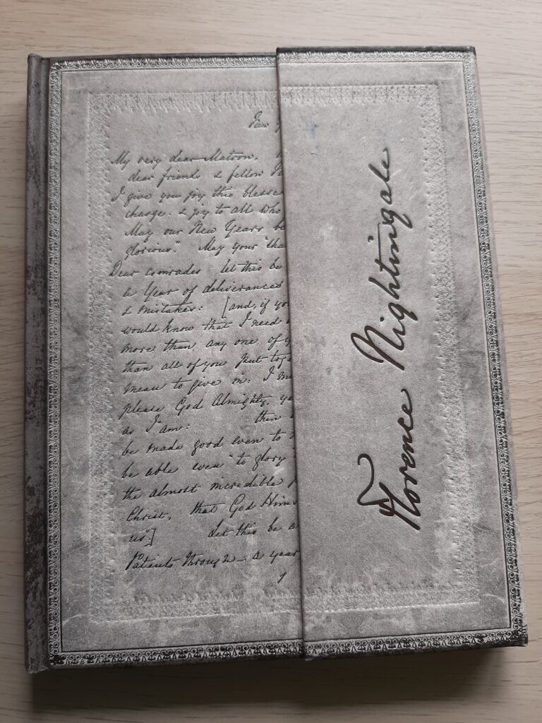Florence Nightingale letter notebook